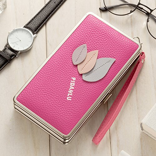 Portafogli da Donna Borsa con Corona Diamante Bling, Sunroyal Multifunzionale [Grande capacità] Smartphone Wristlet Custodia Case Cover per Huawei Mate 9 / P10 / P10 Lite / P10 Plus / P9 / P9 Lite / P Modello 10