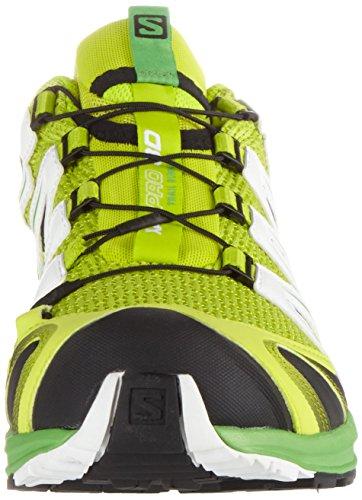 Salomon XA Pro 3D, Chaussures de randonnée homme Jaune (Lime Punch./classic Green/white)