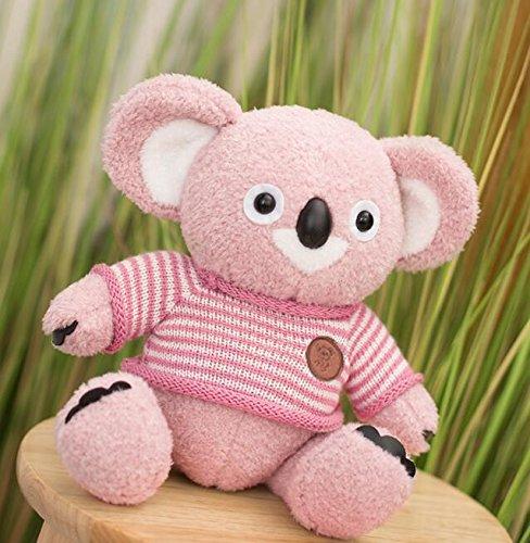 YOIL Lindo y Encantador Juguete Suave Peluches Tall 35cm Bufanda Suave Koala Felpa Bufanda Koala muñeco de Peluche Felpa Suave Bufanda Koala Regalo para niños Chidlren (Rosa)