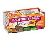 Plasmon homogenisiert Kani Baby-Gläser Kaninchen Züricher PRODUKTE 2 x 80g