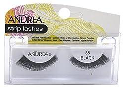 35 Black : Andrea Style Eyelashes, 35 Black