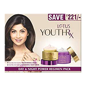 Lotus Herbals Youth Rx Day and Night Power Regimen Pack