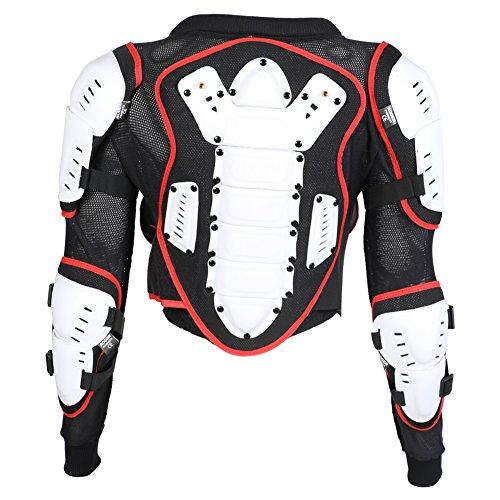 Texpeed - Kinder Motorradjacke für Motocross/Enduro/Sport mit Protektoren - 140cm - 10 Jahre