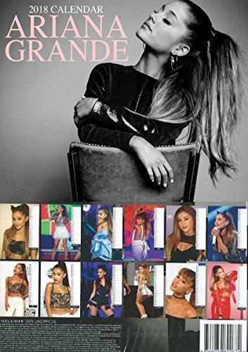 Ariana Grande Calendario.Calendario 2018 Di Ariana Grande Con Portachiavi Incluso