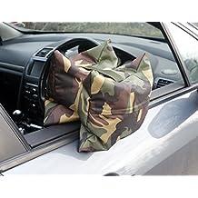 Grippa Bohnensack Vorgefüllte. Camera bean bag Prefilled. Kamera-/Objektivauflage für Naturfotografie vom Auto