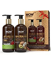 WOW Apple Cider Vinegar Shampoo WOWsome Twosome No Paraben