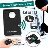 Micro Diebstahlsicherung/Abhörgerät Audio Alarm GSM SIM Bewegungsmelder/PIR A9
