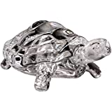 [Sponsored]Crystal Finish Tortoise 11cm Statue Wealth Sign Showpiece Vastu Decorative Turtle Figurine Home Interior Decor Item Feng Shui Table Decoration Idol By Saubhagya Global