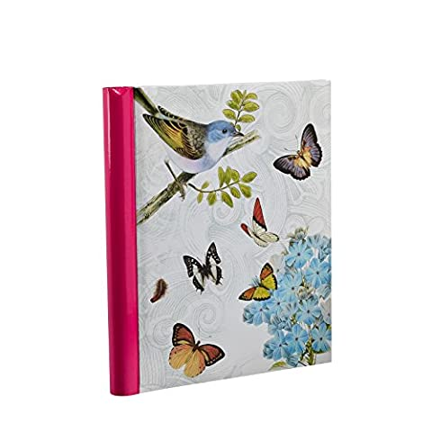 Arpan Cream Photo Album Large Self Adhesive Spiral Ring Binder - Vintage Butterfly by ARPAN