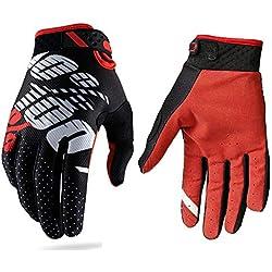 Gants de motocross pour homme et femme - Pour sports extérieurs, moto ou vélo - Tailles S / M / L / XL / XXL