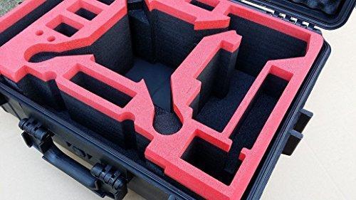 Koffer / Transportkoffer von MC CASES passend für DJI Phantom 2 Vision und Vision Plus vorgefertigt - Ready to use - Platz für 6 Akkus ... - 3
