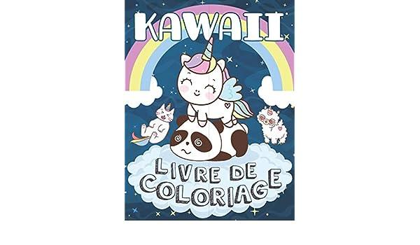 Buy Kawaii Livre De Coloriage Livre De Coloriage Licornes