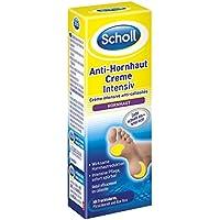 Preisvergleich für Scholl Anti-Hornhaut Creme Intensiv, Creme gegen Hornhaut, Feuchtigkeitscreme für Füße, 2er Pack (2 x 30 ml)