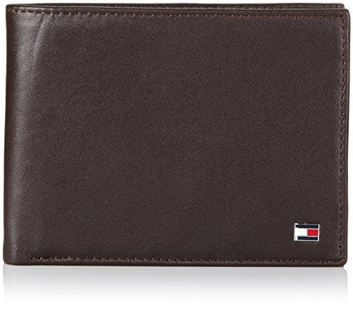 Tommy Hilfiger Herren ETON CC FLAP AND COIN POCKET Geldbörsen, Braun (BROWN 204), 13x10x2 cm (Tommy Hilfiger Tasche Braun)