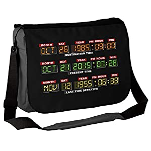 DeLorean Dashboard - Back To The Future Inspired Messenger Bag