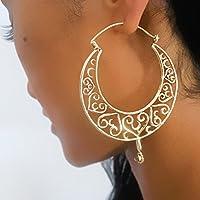 orecchini in ottone - cerchi in