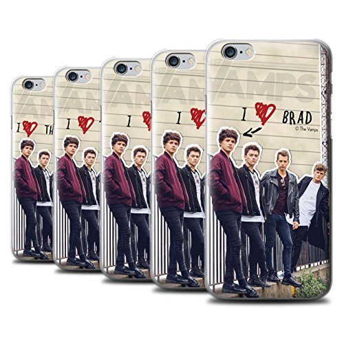 Offiziell The Vamps Hülle / Case für Apple iPhone 6 / Pack 5pcs Muster / The Vamps Geheimes Tagebuch Kollektion Pack 5pcs