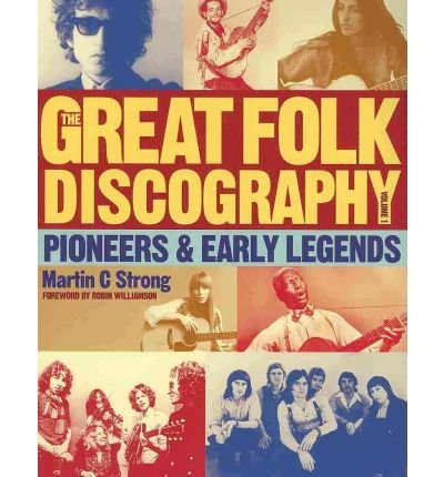Great Folk Discography: Early Legends v. 1 Cover Image