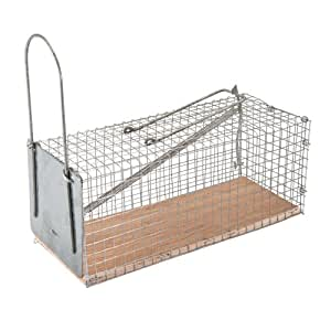Fixman 197512 humane cage mouse trap 250 x 90 x 90mm car motorbike - Kwartaal trap castorama ...