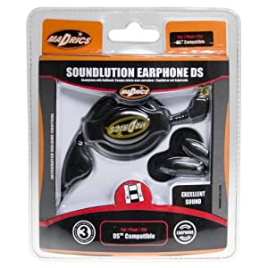 Nintendo DS – Soundlution Earphone Ds Schwarz