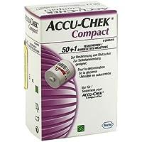 ACCU CHEK Compact Teststreifen 51 St preisvergleich bei billige-tabletten.eu