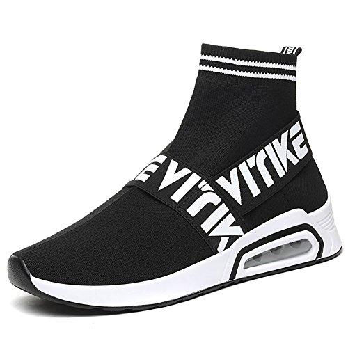 VITIKE Unisex Uomo Donna Scarpe da Ginnastica Corsa Sportive Fitness Running Sneakers Basse Interior Casual all'Aperto Calze Scarpe