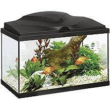 Acquario askoll Aqua 20 nero 40x20x31 con led e filtro 17 litri