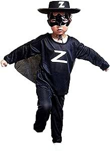 d/éguisements Adultes Carnaval /ép/éiste Chevalier masqu/é KIRALOVE Masque de Costume Zorro id/ée Cadeau Originale Halloween Couleur Noire gar/çon Homme