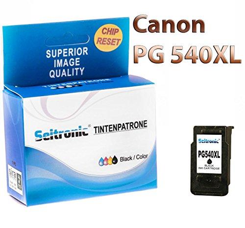 Preisvergleich Produktbild 1x Drucker Patrone Seitronic für Canon PG-540 XL Schwarz Pixma MX435 MX515