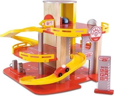 Vilac 2327 Garage Racing 2010 - Garaje y coches de juguete (madera) por Vilac