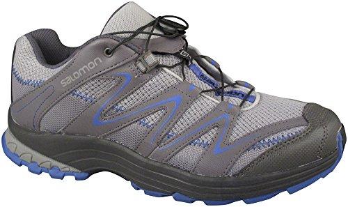 Salomon Trail Score W - Scarpe da trekking da donna, colore grigio Grigio