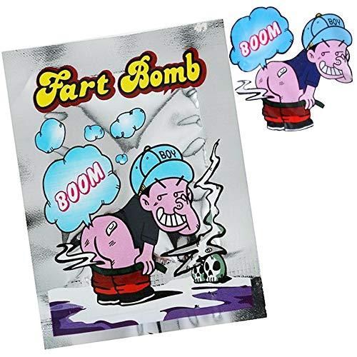 Mabax 10x Stinkbomben Stink Bombe Fart Bomb Bag Knalltaschen Scherzartikel -