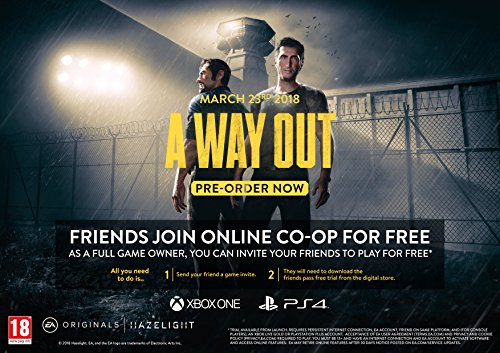 A Way Out (PS4) (New)
