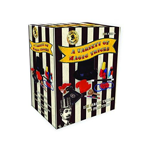 Robert Frederick 125pièces Magie Ensemble–Vintage Noir et blanc à rayures, assortis