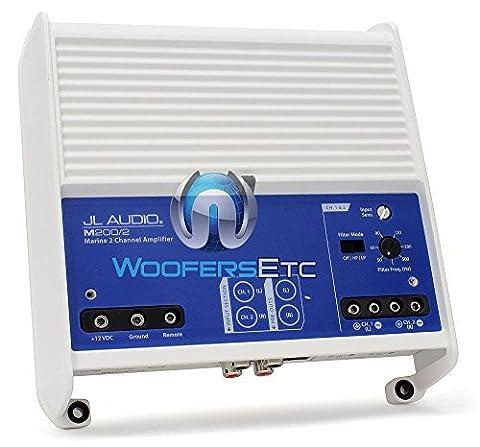 JL Audio M200/2Marine M Series 2-Channel Class D full-range Amplifier