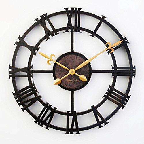 YJH+ Wand Imitation Eisen Digital Uhr ...