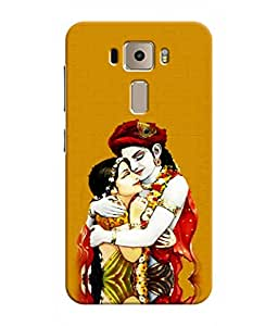 Sketchfab Lord Krisna Latest Design High Quality Printed Designer Back Case Cover For Asus Zenfone 3 Deluxe