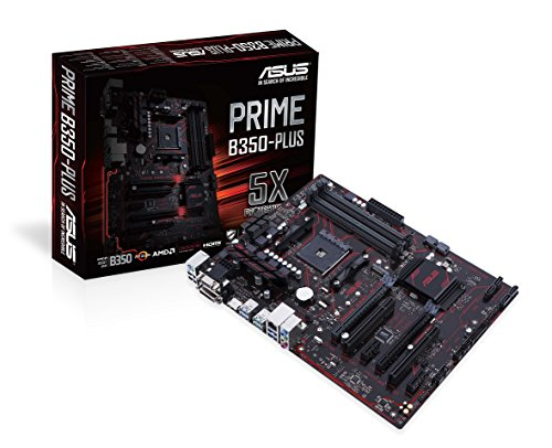 ASUS PRIME B350-PLUS AMD B350 Socket AM4 ATX placa