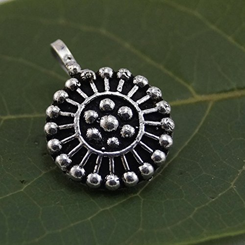 PCM Nose Pin : Oxidised Silver Plated Clip On Nose Pin For Girls / Women