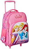 Disney Princess Beauties Pink Trolley School Bag for Children of Age Group 8 + years | Size 18 inch