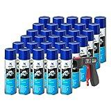 AUPROTEC Bremsenreiniger MC-1 Multicleaner Spray Intensiv Reiniger transparent 30x 500ml + 1x Original Pistolengriff