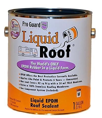 Liquid Roof RV Roof Coating & Repair 1 Gallon by