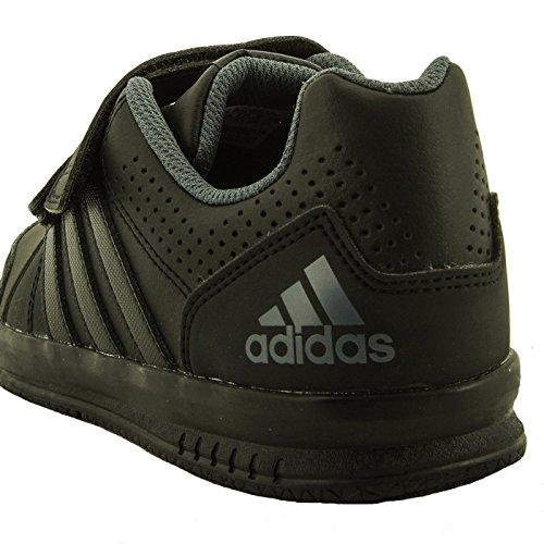 Adidas LK Trainer 7 Junior Black Synthetic Trainers nero