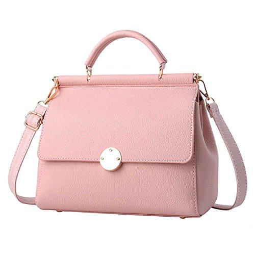 Frauen-Normallack Umhängetasche Mode-Handtasche Pink