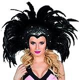 Boland 00375 - Tocado Showgirl, un tamaño, negro