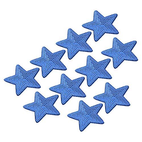 B Baosity Remiendo Lentejuela Estrella Bordado Cose