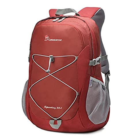 Mountaintop 30L Hiking Daypack/Casual Backpack/School Rucksack,35 x 25 x 55 cm