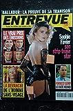 ENTREVUE 33 AVRIL 1995 COVER SOPHIE FAVIER + POSTER STRIP-TEASE INTEGRAL COURTNEY LOVE
