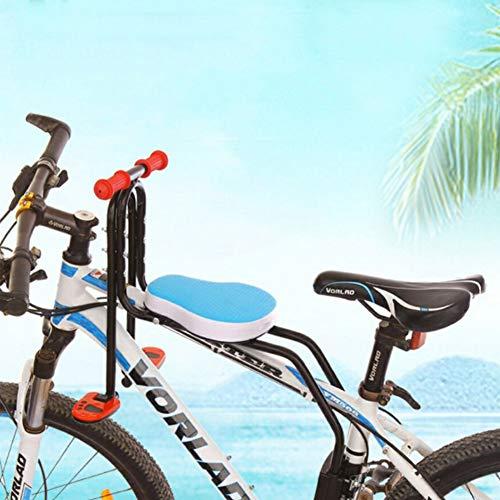 Elitlife Kindersitz, Modischer Abnehmbarer Fahrrad-Vordersitz Kindersitz Pedal mit Griff für Herrenfahrrädern und Damenrädern Fahrradsitz Vorne Wiegen für Kinder Baby Maximales ... (Fahrrad Kindersitz)