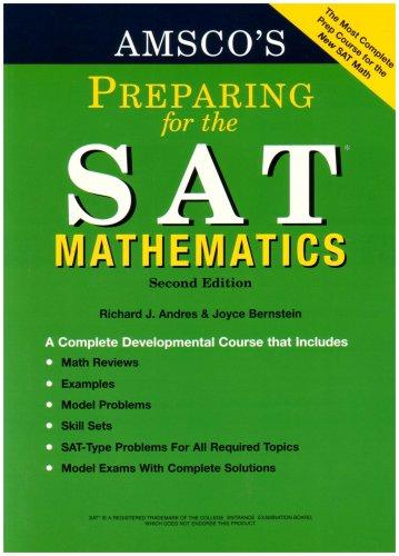 Amsco S Preparing For The Sat Mathematics